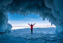 Kalte Faszination: Eistaucher in freier Wildbahn