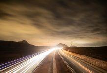 Autobahn Straßenwärter