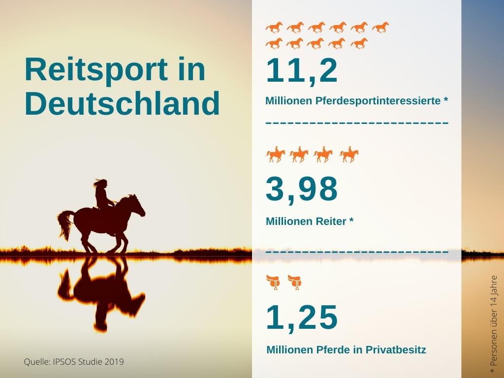 Reitsport in Zahlen