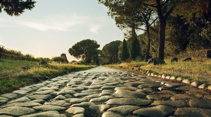 Antike Grabsteine Via Appia
